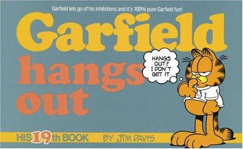 Garfield Hangs Out By Jim Davis