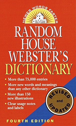 Rh Webster's Dictionary 4th Edn By Random House
