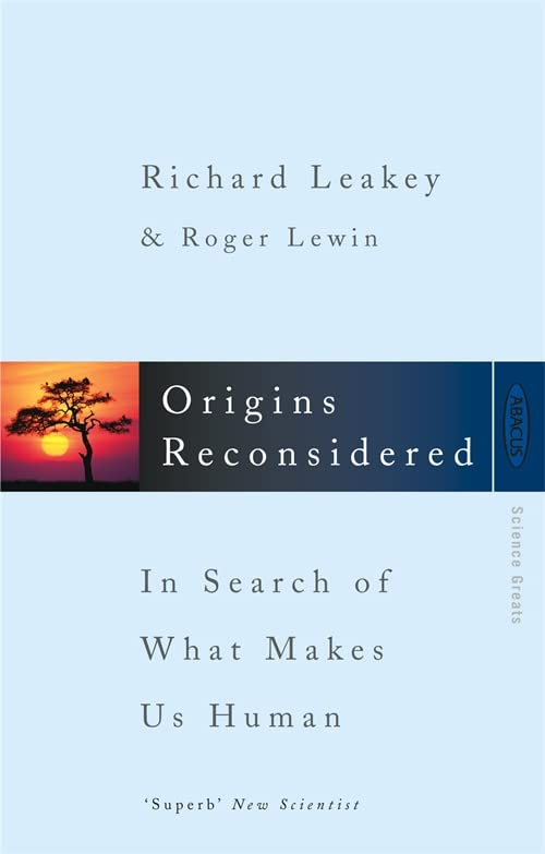 Origins Reconsidered By Roger Lewin