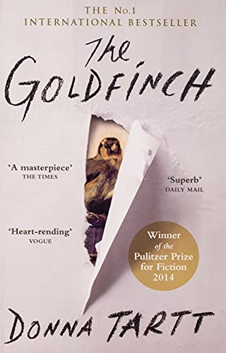 Goldfinch By Donna Tartt