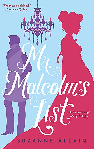 Mr Malcolm's List By Suzanne Allain