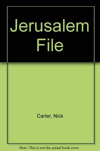 Jerusalem File By Nick Carter