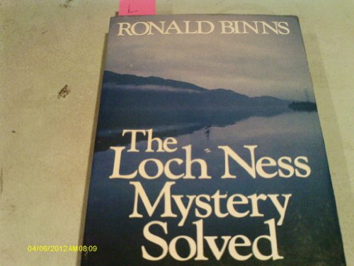 Loch Ness Mystery Solved By Ronald Binns