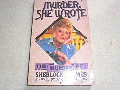 Murder of Sherlock Holmes By James Anderson