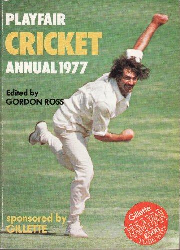 Playfair Cricket Annual 1977 By Gordon (ed.) Ross