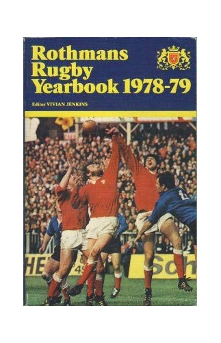 Rothman's Rugby Year Book By Volume editor Vivian Jenkins