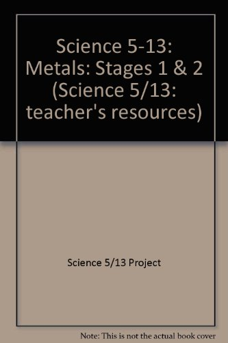 Science 5-13 By Science 5/13 Project
