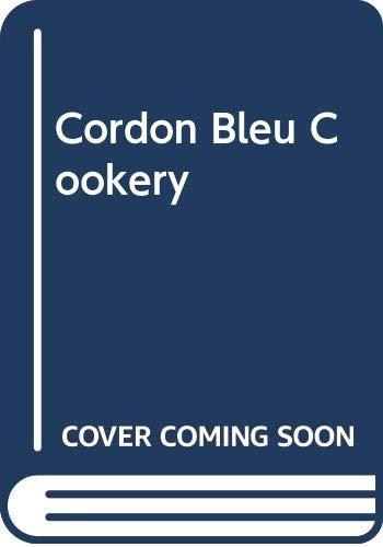 Cordon Bleu Cookery By Muriel Downes