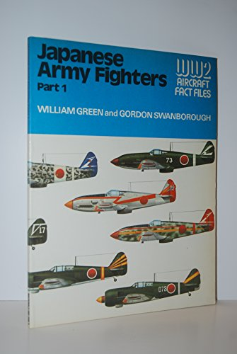 Japanese Army Air Force Fighters By William Green