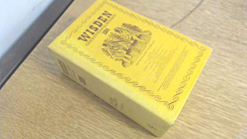 Wisden Cricketers' Almanack 1984 by Unknown Author