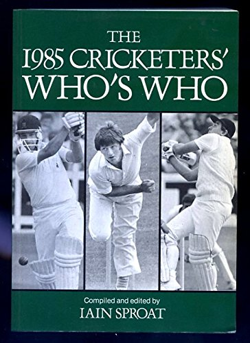Cricketers' Who's Who By Volume editor Iain Sproat