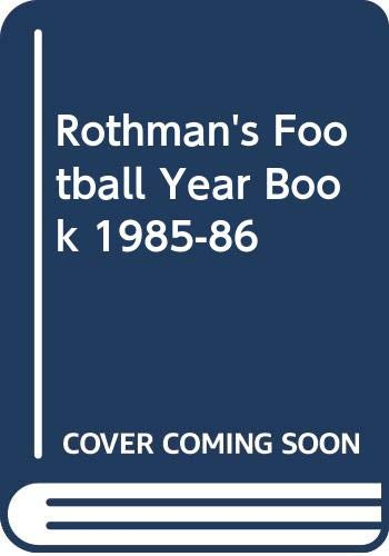 Rothman's Football Year Book By Volume editor Peter Dunk