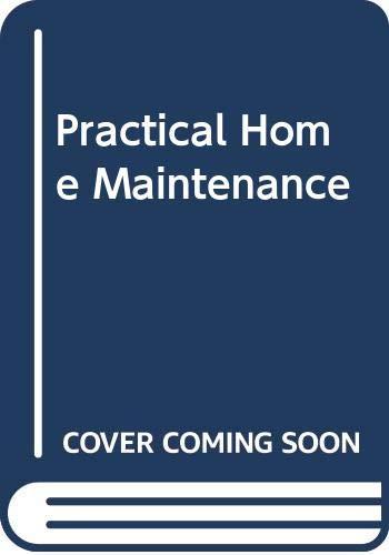 Practical Home Maintenance By Robert Tattersall