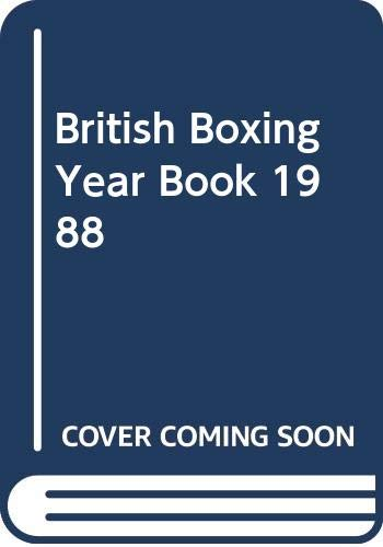 British Boxing Year Book By Volume editor Barry J. Hugman