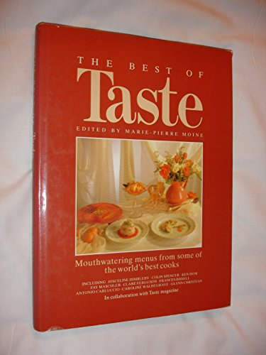 The Best of Entertaining with Taste By Marie-Pierre Moine