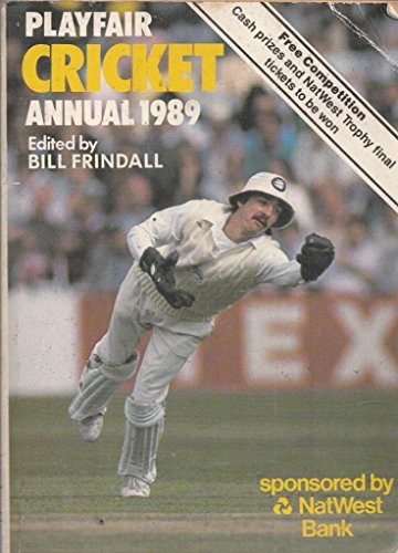 Playfair Cricket Annual By Volume editor Bill Frindall
