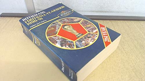 Rothman's Football Year Book 1990-1991. Volume editor Jack Rollin