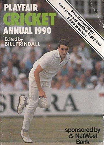 Playfair Cricket Annual By Volume editor Bill Frindall
