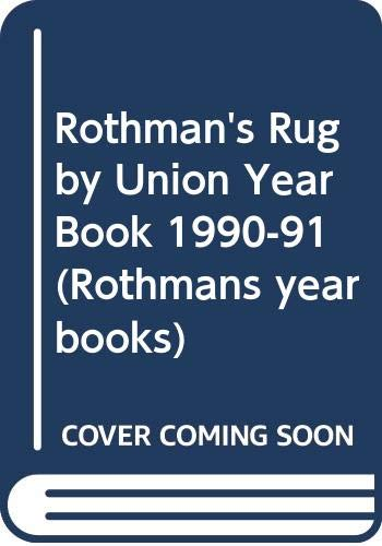 Rothman's Rugby Union Year Book By Volume editor Stephen Jones