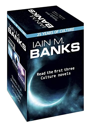 Iain M. Banks Culture - 25th anniversary box set By Iain M. Banks