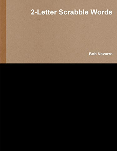 2-Letter Scrabble Words By Bob Navarro