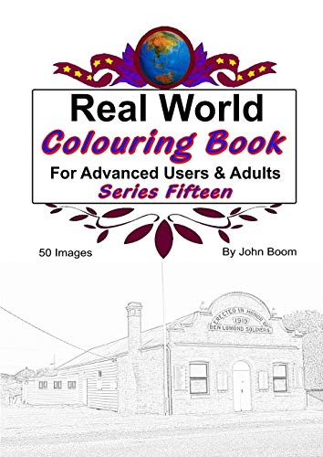 Real World Colouring Books Series 15 By John Boom