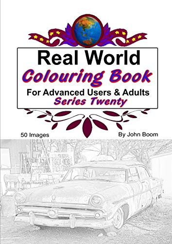 Real World Colouring Books Series 20 By John Boom