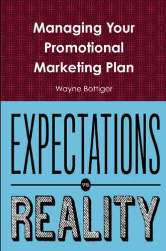 Managing Your Promotional Marketing Plan By Wayne Bottiger