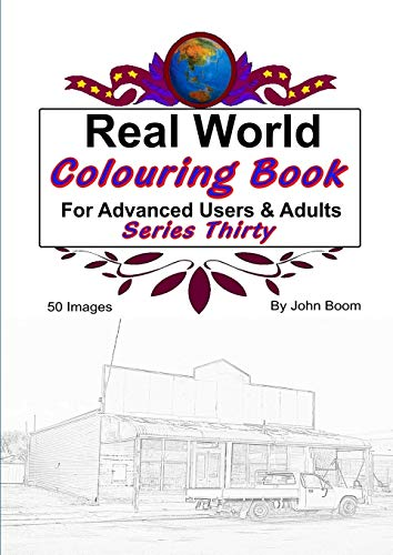 Real World Colouring Books Series 30 By John Boom