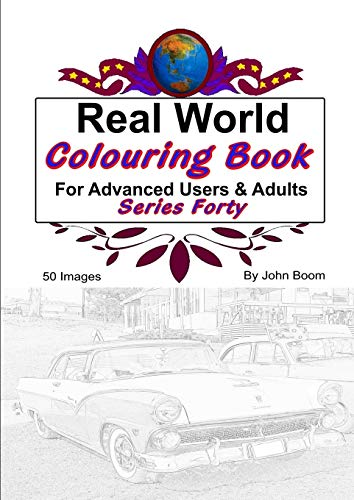 Real World Colouring Books Series 40 By John Boom