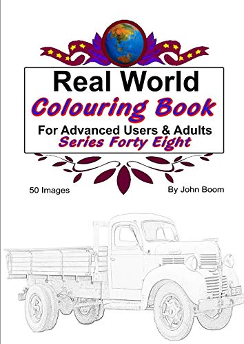 Real World Colouring Books Series 48 By John Boom