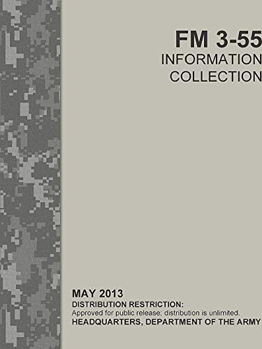 Information Collection (FM 3-55) By Headquarters Department of the Army