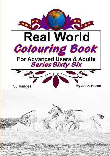 Real World Colouring Books Series 66 By John Boom