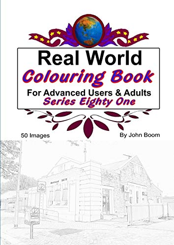 Real World Colouring Books Series 81 By John Boom