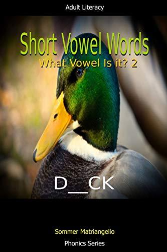 Short Vowel Words: What Vowel Is It? 2 By Sommer Matriangello