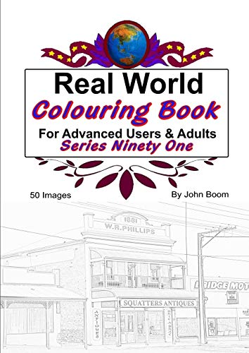 Real World Colouring Books Series 91 By John Boom