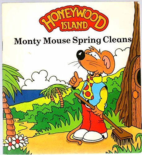 Monty Mouse Spring Cleans (A Purnell book) By Peter Kingston