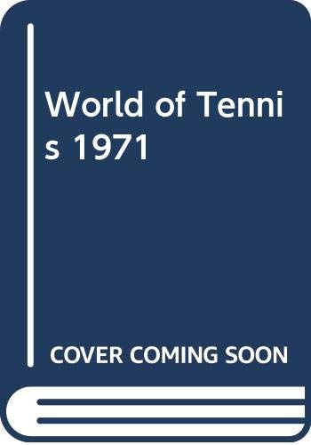 World of Tennis By Volume editor John Barrett