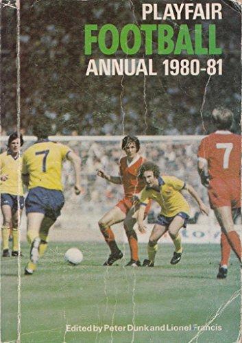 Playfair Football Annual By Volume editor Peter Dunk