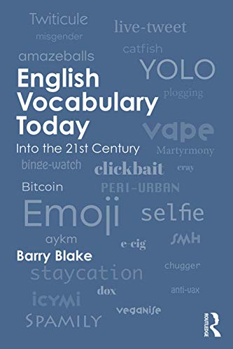 English Vocabulary Today By Barry J. Blake