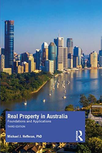 Real Property in Australia By Michael J. Hefferan