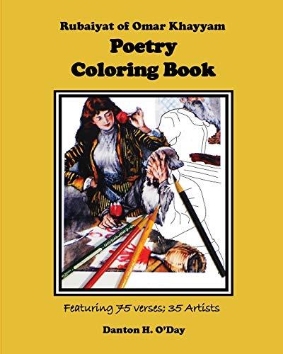 Rubaiyat of Omar Khayyam Poetry Coloring Book By Danton H O'Day