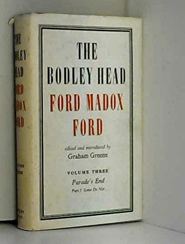 The Bodley Head Ford Madox Ford By Ford Madox Ford