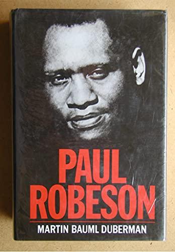 Paul Robeson By Martin Bauml Duberman
