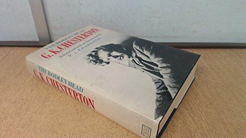 The Bodley Head G.K. Chesterton By G. K. Chesterton