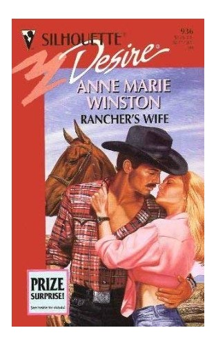 Rancher's Wife By Anne Marie Winston