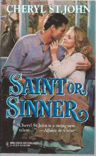 Saint or Sinner By St John Cheryl