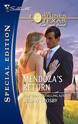 Mendoza's Return By Susan Crosby