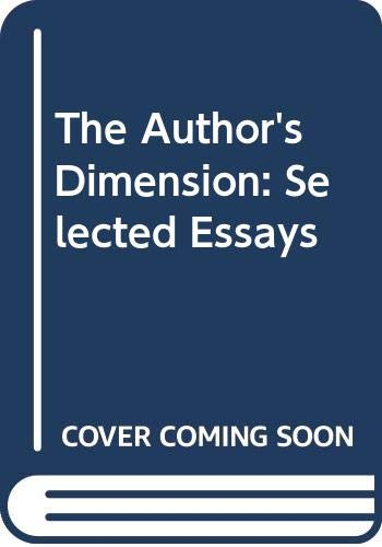 The Author's Dimension By Christa Wolf