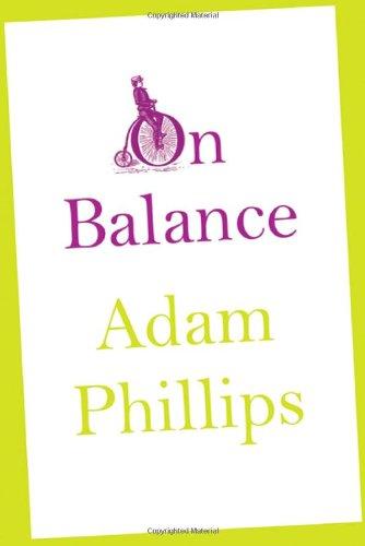 On Balance By Adam Phillips
